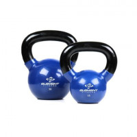 Element Fitness Vinyl Kettlebell