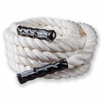 "Power Training Rope 1.5"", White, 50'"